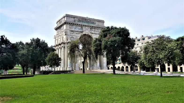 Piazza della Vittoria, Genova