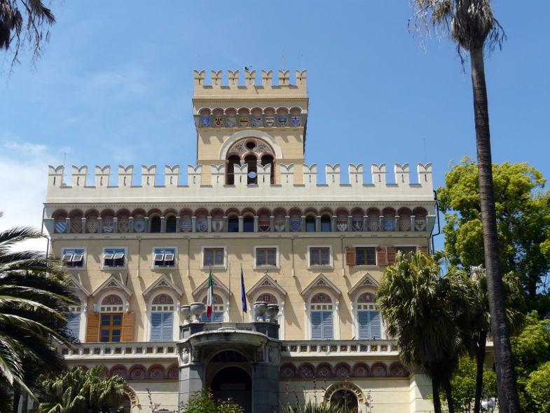 Villa Negrotto Cambiaso, Parco Arenzano