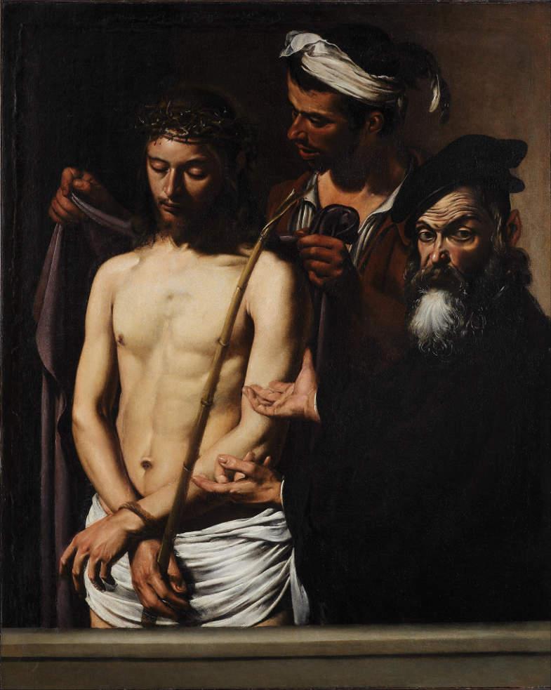 Caravaggio, opera Ecce Homo