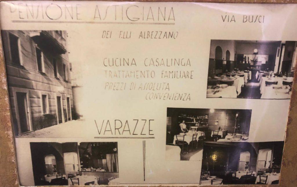 Hotel Astigiana: foto storiche della pensione